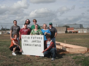BAUUC Community Garden Volunteers